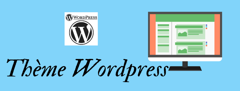 Apparence d(un site wordpress